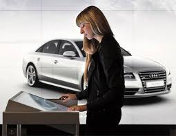 audi digital showroom first digital audi showroom opens in london superyachts com