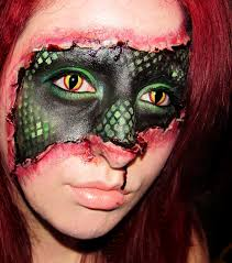 special effects make up makeup by a 20 something lizard within special effects makeup