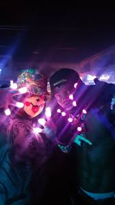 muilticolor led gloves prewired electro light up gloves rave