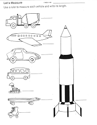 transportation ideas for math kindergarten nana