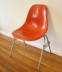 Orange Chair by Vintage Herman Miller Chairs Herman Miller Chair Vintage Orange