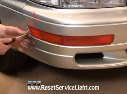 1999 toyota camry turn signal light assembly diy change the front turn signal light on toyota camry 1994 reset