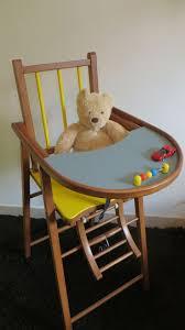 chaise bebe chaise bois vintage excellent chaise haute metal luxe chaise haute