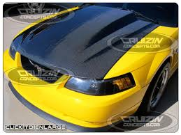 95 mustang hoods mustang carbon fiber hoods parts wings at cruizinconcepts com
