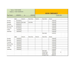 time sheet template monthly timesheet template 39 timesheet