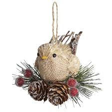bird nest ornament natal vánoce рождество