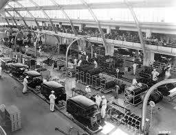 ford mustang assembly plant tour 03 gm exhibition assembly line highland park