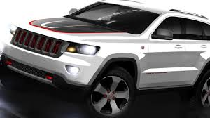 jeep grand cherokee trailhawk grey 2013 jeep grand cherokee trailhawk and wrangler moab announced