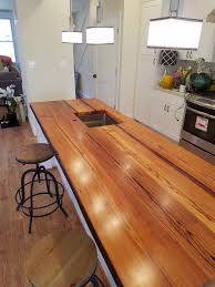 Diy Wood Kitchen Countertops by Countertop Reclaimed Wood Countertops Wooden Kitchen