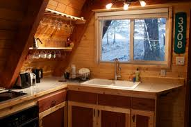 a frame kitchen ideas tiny a frame cabin in the woods