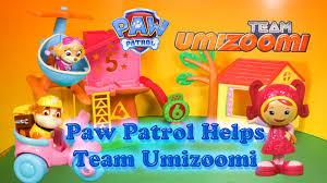 Team Umizoomi Halloween Costumes Paw Patrol Nickelodeon Paw Patrol Helps Team Umizoomi Toys Video