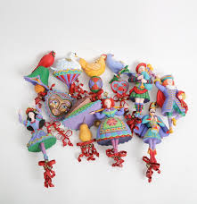 department 56 12 days of ornaments ebth