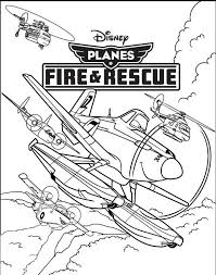 9 planes images planes fire u0026 rescue coloring