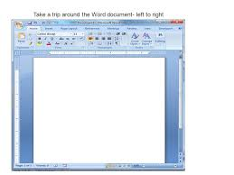 introduction to word creating a cover letter take a trip around