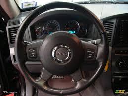 2006 jeep grand cherokee srt8 medium slate gray steering wheel