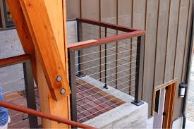 fencing beautiful feeney cable rail for deck and indoors cable railing home depot feeney cable rail lowes railings