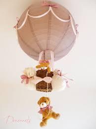 lustre chambre bébé garçon le montgolfière fille taupe et enfant bébé luminaire