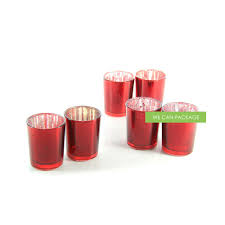 glass votive cups vintage candle holder diy votives