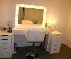 mirrored makeup vanity table makeup dresser with mirror and lights dressing table mirror with