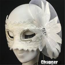 white halloween mask high quality beautiful halloween masks promotion shop for high