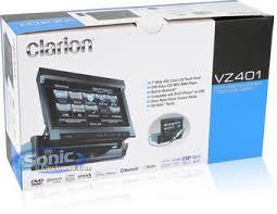 clarion vz401 vz 401 car stereo 7
