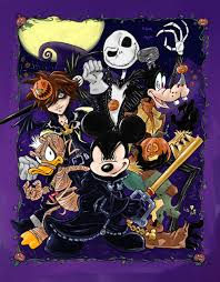 kingdom hearts king mickey in halloween town shadowbinders a