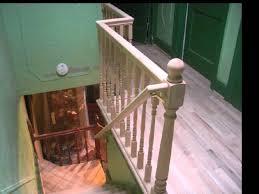Banister Repair Reface Hallway Steps Repair Sand Stain Refinsh Wmv Youtube