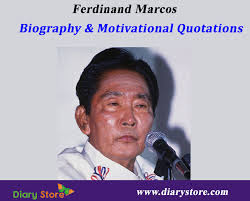 biography of ferdinand marcos ferdinand marcos biography inspiration quotations motivation