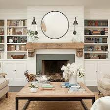 The Coffee Table by Shiplap On Fireplace Rustic Mantle Also Love The Coffee Table