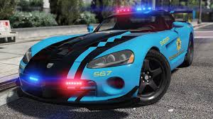 Dodge Viper 2016 - dodge viper srt 10 acr pursuit police add on replace
