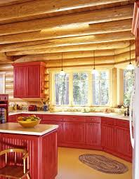 Gloss Red Kitchen Doors - best 25 red cabinets ideas on pinterest red kitchen cabinets