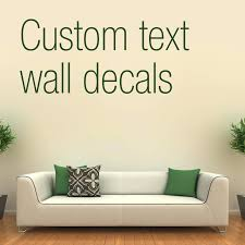 custom wall decals for nursery custom wall decal text custom name wall sticker kids room baby
