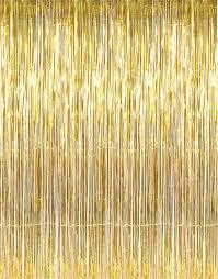 stock metallic tinsel backdrop gold silver home