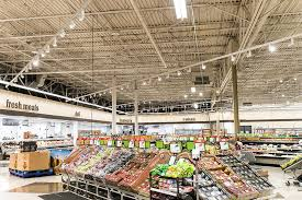 lighting stores in dayton ohio remodeled meijer supercenters introduce all led lighting design retail