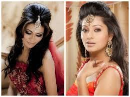 bridal hairstyles medium length bridal hairstyle indian women medium haircut