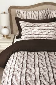 Bed Bath Beyond Comforters Bedroom Nice Breathtaking Cable Knit Bedding With Luxury Design