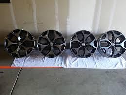subaru factory wheels sold 2015 xt 18x7 et48 oem wheels only 800 miles subaru