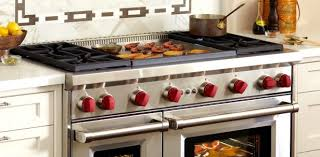 Gas Cooktop With Downdraft Vent Kitchen Extraordinary Kitchen With Built In Griddle Cooktop And