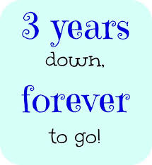 3rd wedding anniversary idea for an anniversary card for me it would be 2 years