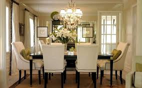 unique dining room ideas cool dining room ideas with elegant french white uphostered chairs