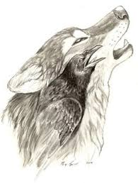 ravens crows and wolves favourites by chuge on deviantart