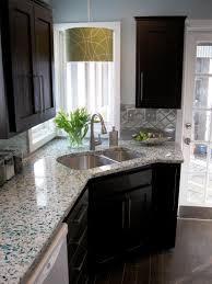 simple kitchen makeover ideas 7027 baytownkitchen fascinating kitchen decor idea with single faucet and black cabinet
