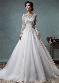 robe de mari e dentelle manche longue robe de mariee en dentelle manche longue