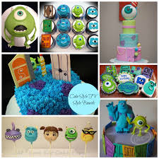 monsters inc cake collage jpg i can u0027t believe aidan is turning 4