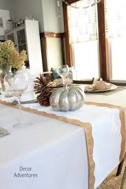 how to make table runner at home holiday table runner shape tape ideas decor adventures