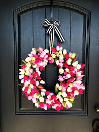 inspiring front door spring wreaths pinterest photos best