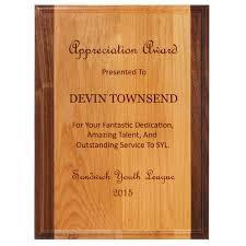 wood plaque midwest awards corporation alder plus wood plaques