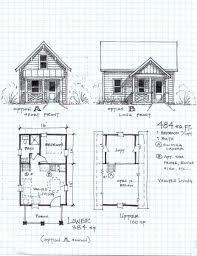 garden cottage one level with loft floor plan for split home