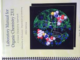 lab manual for organic chem 2311 custom u mn 10th edition 2013