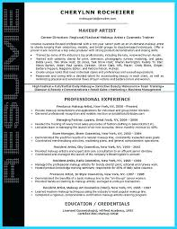 sample resume for subway sandwich artist resume samples makeup